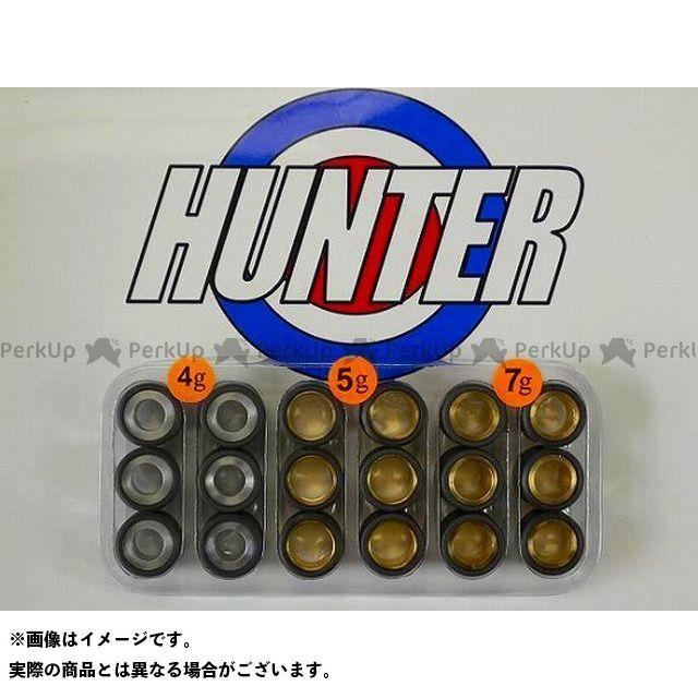 【無料雑誌付き】Hunter プーリー関連パーツ スズキ用 オリジナルウェイトローラーセット17φ×12mm ハンター画像
