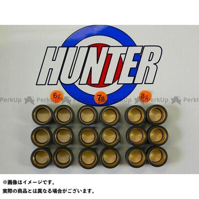【無料雑誌付き】Hunter シグナスX マジェスティ125 プーリー関連パーツ ヤマハ用オリジナルウエイトローラーセット 20φ×12mm ハンター画像