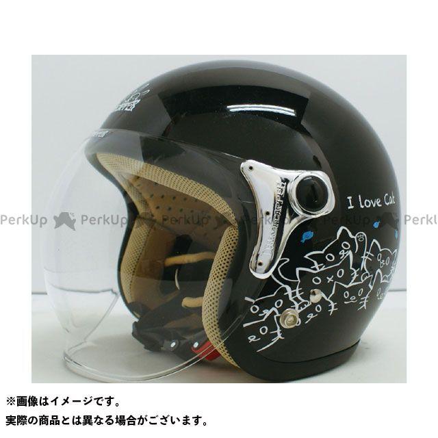 ダムトラックス レディース・キッズヘルメット CARINA(カリーナ) レディースフリー/57-58cm カラー:ブラック/キャット ダムトラ画像