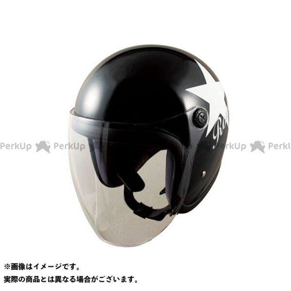 エントリーで最大P19倍  特価品 SPEEDPITレディース・キッズヘルメットRJ-66rougeシールドジェットカラー:ブ