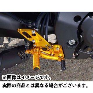 BABYFACE フェザー8 FZ1(FZ1-N) FZ8 バックステップ関連パーツ バックステップキット ノーマルパターン シルバー ベビーフェイス