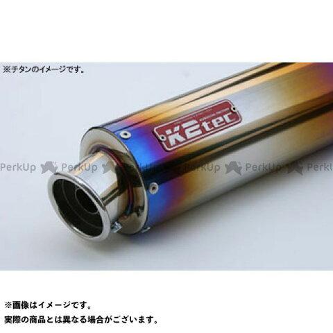 K2-tec 汎用 マフラー本体 GPスタイル STDサイレンサー カール 60.5/P50(ステンレス/SUS304) バンド止めタイプ φ100 520mm ケイツーテック