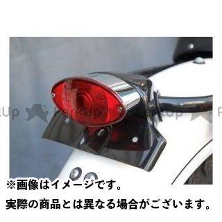 【無料雑誌付き】OSCAR 250TR テール関連パーツ 250TR用テールランプセット・キャッツアイ 黒ゲル オスカー