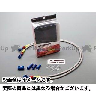 【無料雑誌付き】AC-PERFORMANCE LINE バンバン200 ブレーキホース・ケーブル類 フロントブレーキホース ホースカラー:クリア ACパフォーマンス
