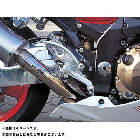 【無料雑誌付き】BEET ニンジャZX-12R バックステップ関連パーツ ハイパーバンク 固定式(シルバー) ビートジャパン