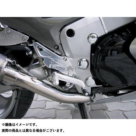 【無料雑誌付き】BEET ZZR1200 バックステップ関連パーツ ハイパーバンク 固定式(シルバー) ビートジャパン