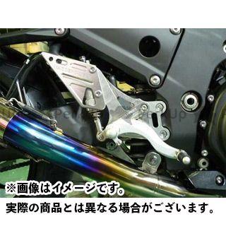 【無料雑誌付き】BEET ニンジャZX-14R バックステップ関連パーツ ハイパーバンク 可倒式(シルバー) ビートジャパン