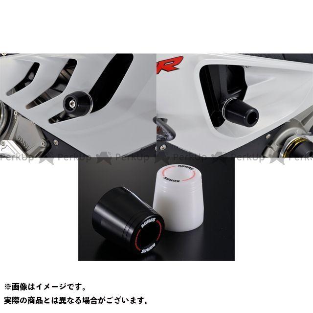 【気質アップ】 エントリーで最大P19倍 AGRAS S1000RR スライダー類 レーシングスライダー フレーム カラー ジュラコン ホワイト タイプ ロゴ有 アグラス, アキタOUTLET b5d33ac3