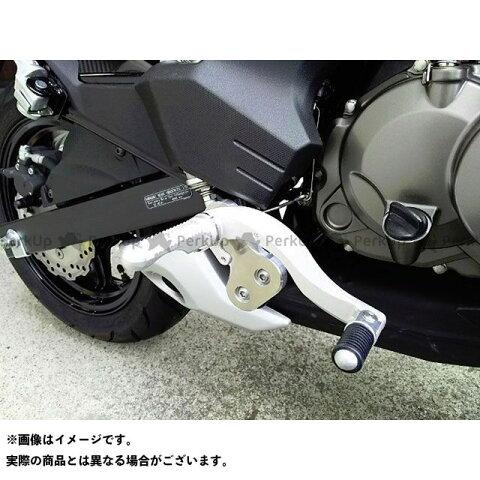 【無料雑誌付き】BEET Z125プロ バックステップ関連パーツ ハイパーバンク 可倒式(シルバー) ビートジャパン