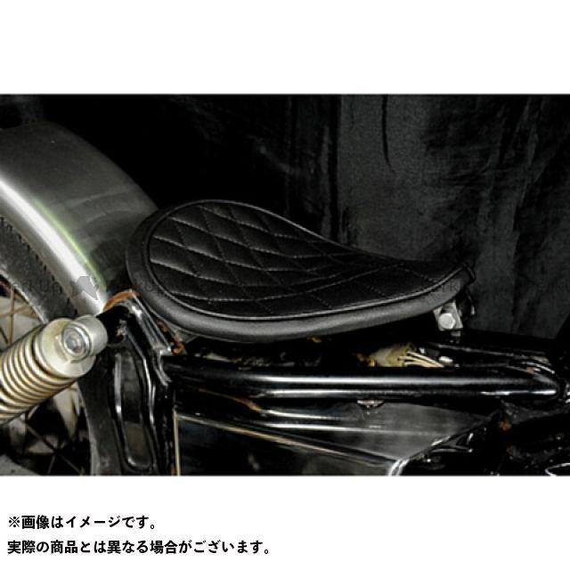 ブヒンヤケーアンドダブリュー ドラッグスター250(DS250) ドラッグスター400(DS4) シート関連パーツ 専用ソロシートKIT リジットタイプ(ステッチ) DS400 ダイヤ 黒