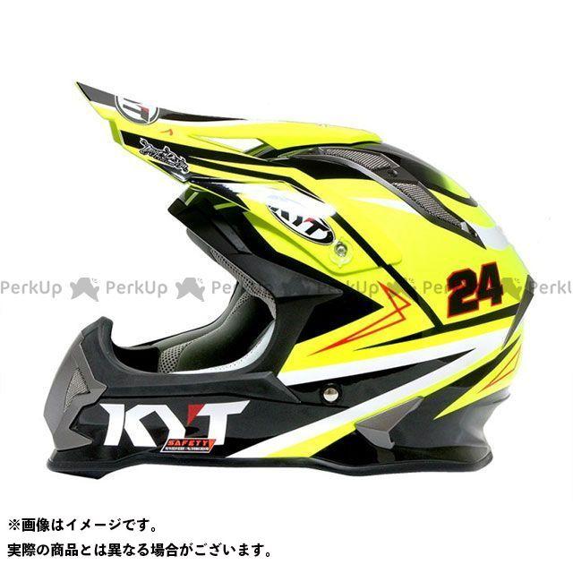 【無料雑誌付き】ケーワイティー オフロードヘルメット ストライクイーグル シンプソンレプリカ(イエロー) サイズ:XL/61-62cm KYT