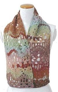 雅で編むマフラー