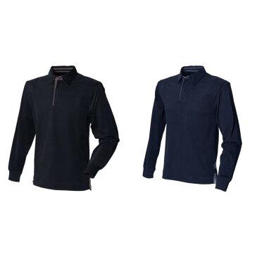 (フロント・ロウ) Front Row メンズ スーパーソフト 長袖ポロシャツ ラガーシャツ トップス カットソー 男性用 【楽天海外直送】