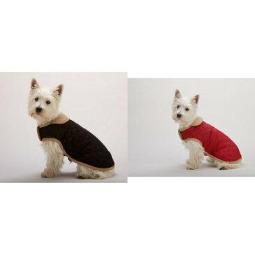 (ドッグ・ゴーン・スマート) Dog Gone Smart ワンちゃん用 スエード キルティングコート 犬服 ドッグコート ペット用コート 【楽天海外直送】