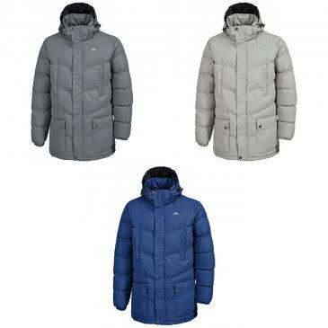 (トレスパス) Trespass メンズ Cumulus フルジップ 中綿入りジャケット アウター コート アウトドア スポーツ 冬 防寒 【楽天海外直送】