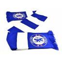 チェルシー フットボールクラブ Chelsea FC オフィシャル商品 ジャカード フットボールスカーフ マフラー 【楽天海外直送】