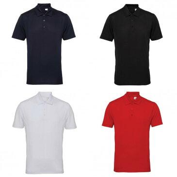 (トライ・ドライ) Tri Dri メンズ パネル 吸湿ドライ 半袖ポロシャツ スポーツポロ トレーニングシャツ スポーツウェア 【楽天海外直送】