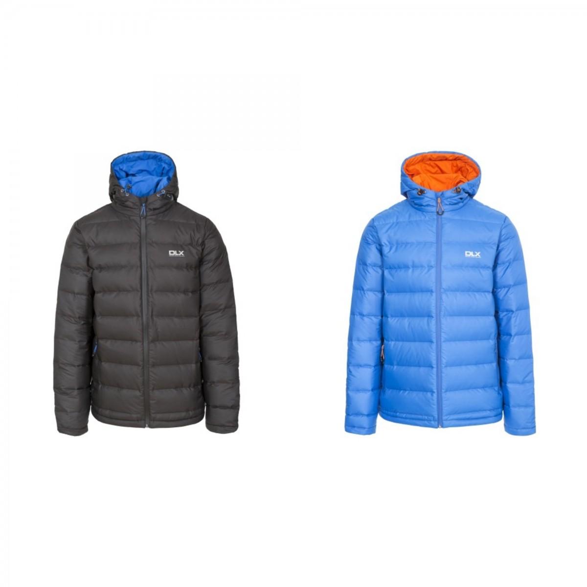 (トレスパス) Trespass メンズ Ambrose ダウンジャケット 中綿入り フード付き アウター 防寒