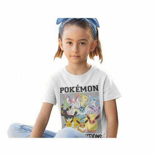 トップス, Tシャツ・カットソー () Pokemon Eevee Evolutions T
