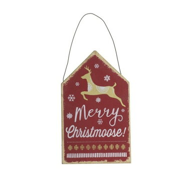 (ヘヴン・センズ) Heaven Sends クリスマス 壁掛け 木製 ウォールデコレーション 看板 飾り インテリア 【楽天海外直送】