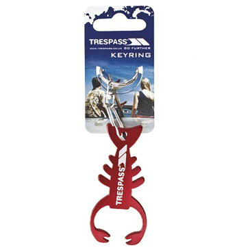 (トレスパス) Trespass Lobster ロブスター キーホルダー 【楽天海外直送】