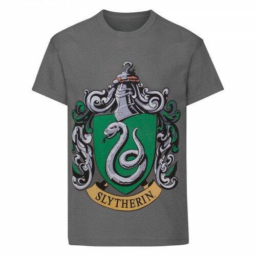 (ハリー・ポッター) Harry Potter オフィシャル商品 子供用 スリザリン 紋章 半袖 Tシャツ 男の子 【楽天海外直送】