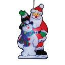 (クリスマスショップ) Christmas Shop サンタとスノーマンのライト (10点セット)  ...