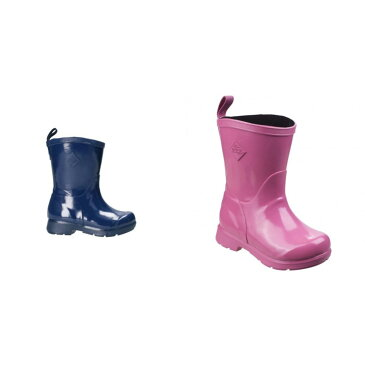 (マックブーツ) Muck Boots キッズ・子供 Bergen ミドル丈 軽量 レインブーツ 子供靴 長靴 ウェリントンブーツ 【楽天海外直送】