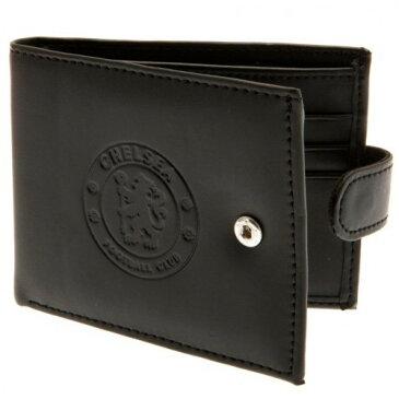 チェルシー フットボールクラブ Chelsea FC オフィシャル商品 メンズ RFID スキミング防止 デボスロゴ レザー 財布 【楽天海外直送】