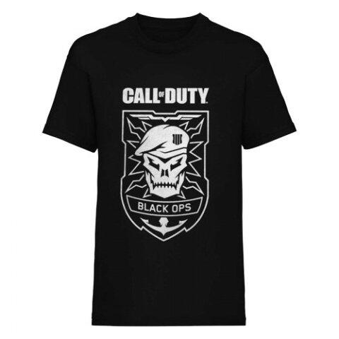 (コール・オブ・デューティー) Call Of Duty ブラックオプス4 オフィシャル商品 ユニセックス キャラクター プリント 半袖 Tシャツ 【楽天海外直送】