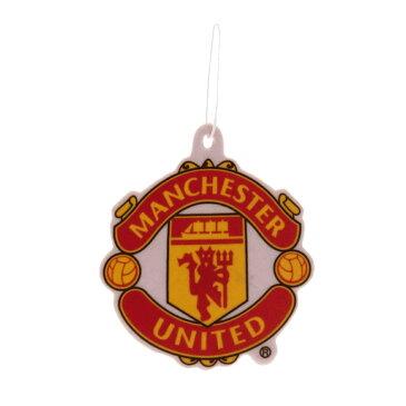 マンチェスター・ユナイテッド フットボールクラブ Manchester United FC オフィシャル商品 車用 エアーフレッシュナー 芳香剤 【楽天海外直送】
