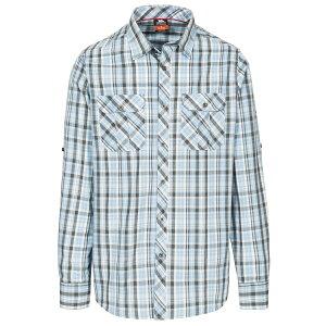 (トレスパス) Trespass メンズ Collector チェック柄 ボタンダウン 襟付き 長袖シャツ 【楽天海外直送】