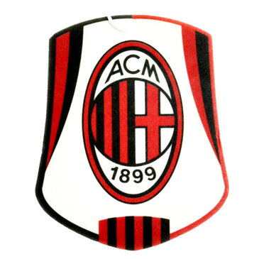 ACミラン フットボールクラブ AC Milan オフィシャル商品 車用 エアーフレッシュナー 芳香剤 【楽天海外直送】