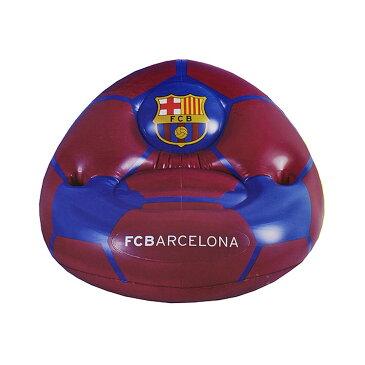 FCバルセロナ フットボールクラブ FC Barcelona オフィシャル キッズ・子供用 エアーチェア ビニールイス 空気イス 【楽天海外直送】