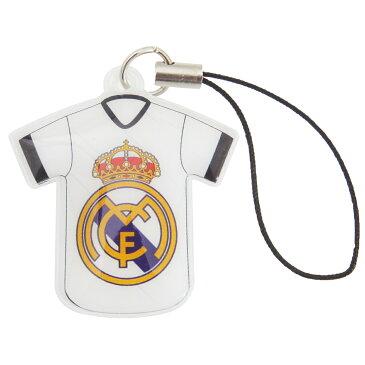レアル・マドリード フットボールクラブ Real Madrid CF オフィシャル商品 ユニフォーム 携帯ストラップ 【楽天海外直送】