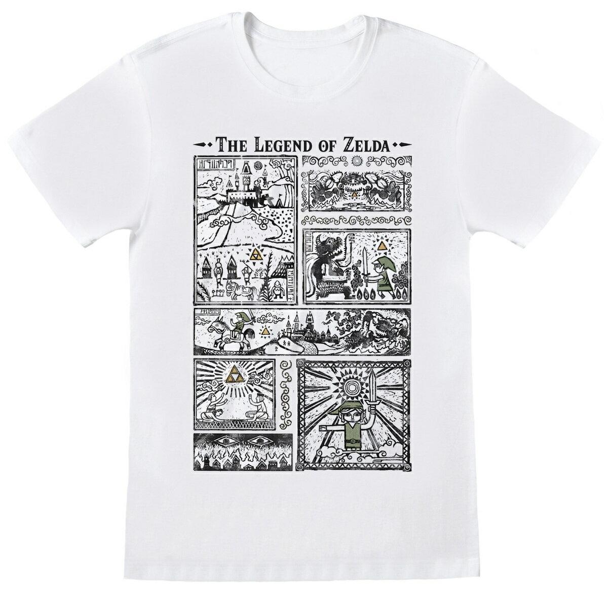 ユニセックスウェア, Tシャツ・カットソー Nintendo Legend Of Zelda T