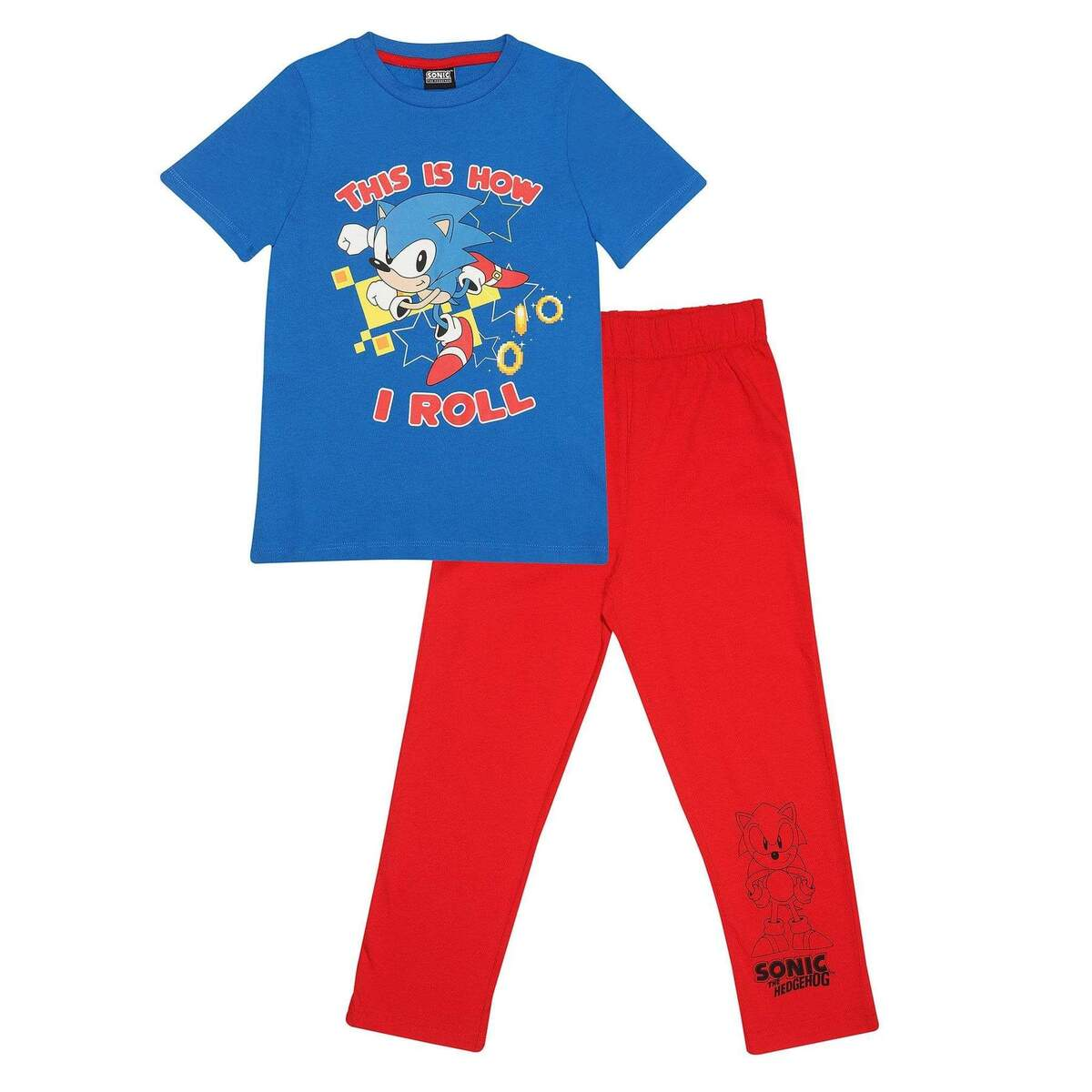ナイトウェア・ルームウェア, パジャマ () Sonic The Hedgehog This Is How I Roll