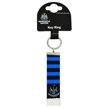 ニューカッスル・ユナイテッド フットボールクラブ Newcastle United FC オフィシャル商品 フットボールスカーフ キーホルダー 【楽天海外直送】