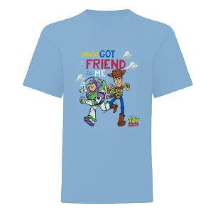 (トイ・ストーリー) Toy Story オフィシャル商品 キッズ・子供 ボーイズ Youve Got A Friend In Me 迷彩 Tシャツ 半袖 カットソー トップス 【楽天海外直送】