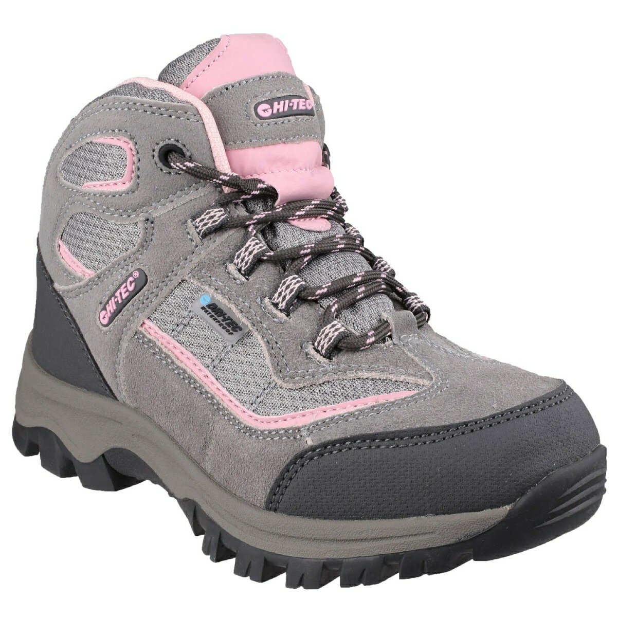 (ハイテック) HI-TEC キッズ・子供・ジュニア ヒルサイド WP ウォーキングブーツ 子供靴 カジュアルシューズ アウトドアブーツ