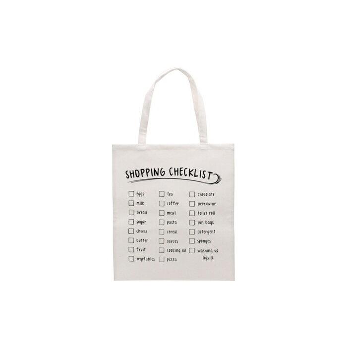 (シージービー・ギフトウェア) CGB Giftware Totes Amazeトートバッグ 布バッグ エコ 買い物バッグ Shopping Checklist 【楽天海外直送】