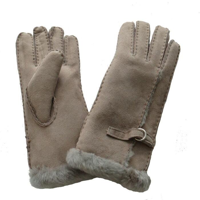 (イースタン・カウンティーズ・レザー) Eastern Counties Leather レディース バックル付き シープスキン 手袋 グローブ 【楽天海外直送】