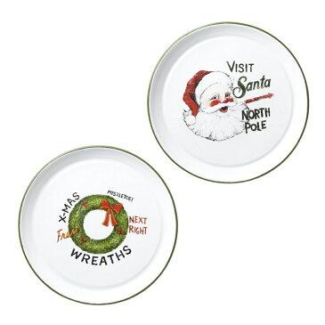 (ヘヴン・センズ) Heaven Sends クリスマス トレーセット 2枚入 トレイ お皿 【楽天海外直送】