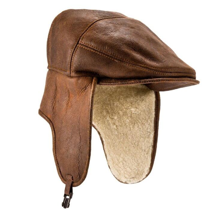 (イースタン・カウンティーズ・レザー) Eastern Counties Leather メンズ Newton シープスキン ナッパ革 ハット 帽子 【楽天海外直送】