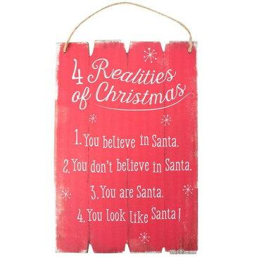(サムシング・ディファレント) Something Different クリスマス Realities Of Christmas 壁掛け サインプレート 看板 ウォールアート 【楽天海外直送】