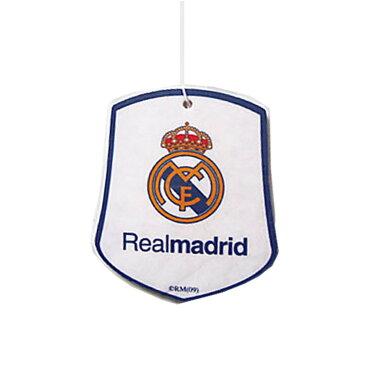 レアル・マドリード フットボールクラブ Real Madrid CF オフィシャル商品 車用 エアーフレッシュナー 芳香剤 【楽天海外直送】