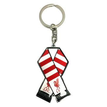 リバプール フットボールクラブ Liverpool FC オフィシャル商品 フットボールスカーフ キーホルダー 【楽天海外直送】