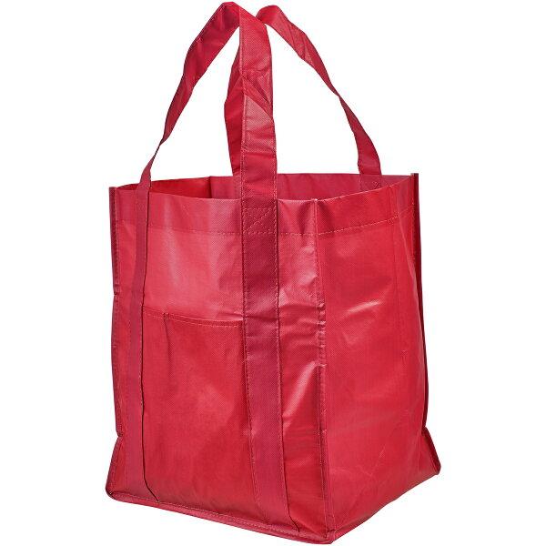 (ブレット)BulletSavoyラミネート不織布グローサリートートバッグエコバッグお買い物かばん(2パック) 海外直送