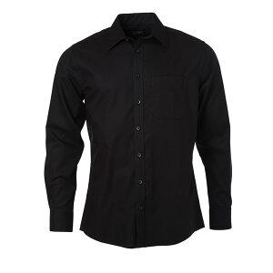 (ジェームズ・アンド・ニコルソン) James & Nicholson メンズ Micro-Twill マイクロツイル 長袖 ノンアイロンシャツ ワイシャツ 【楽天海外直送】
