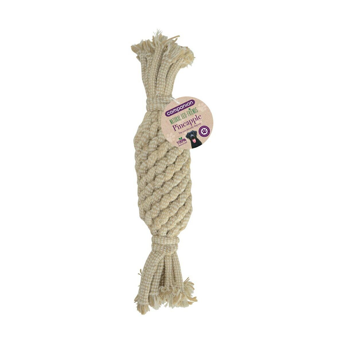 (コンパニオン) Companion ワンちゃん用 ナチュラル エコフレンズ ロープのおもちゃ 犬用 ドッグトイ ペット用品 【楽天海外直送】